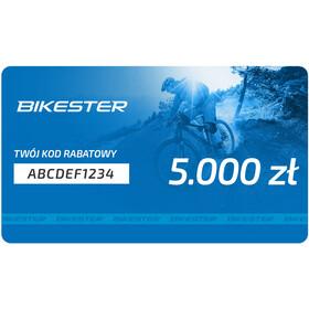 Bikester Karta upominkowa, 5000 zł
